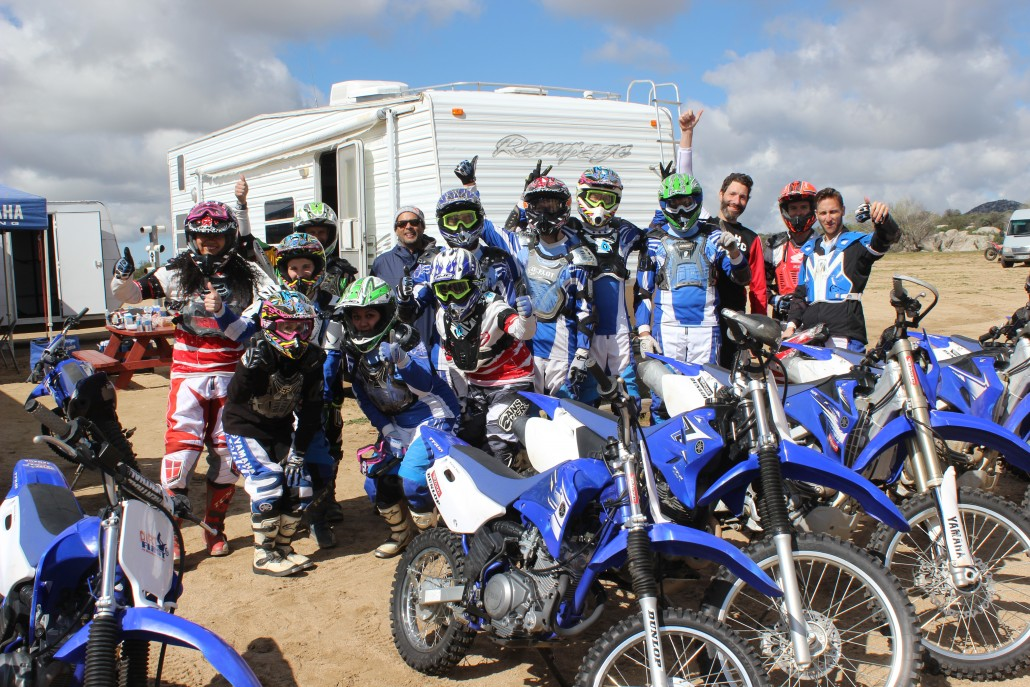 Corporate group from Red Bull Training at MotoVentures
